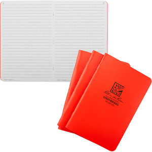 No. OR71FX - Universal, Orange Cover, Rite in the Rain Notebook, Pack of 3