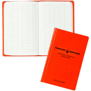 "Forestry Suppliers Level Book, 80 Leaves, 4-5/8"" x 7-1/4"""