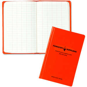 "Forestry Suppliers Level Book, 60 Leaves, 4-1/8"" x 6-1/2"""