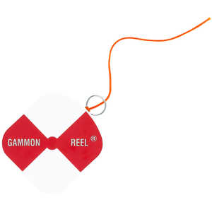 Gammon Reel w/12' Orange String