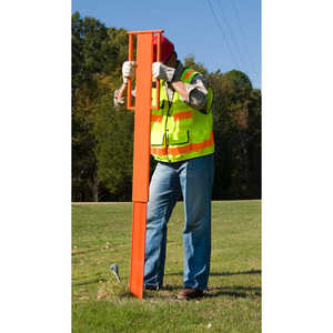 Utility Marker Post Driver