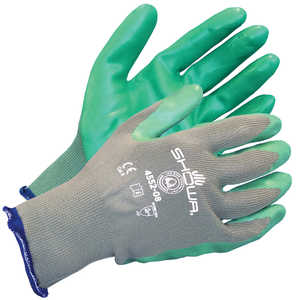 Showa® 4552 Biodegradable Nitrile Sponge-Grip Gloves