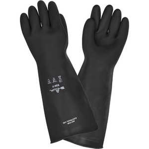 Natural Rubber HD Elbow-Length Gloves, Size 11 Only