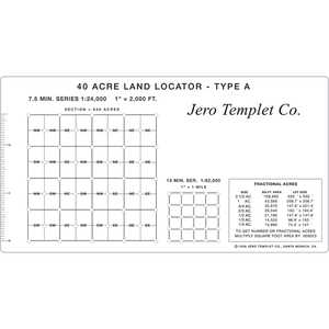 40-Acre Land Locator, Type A