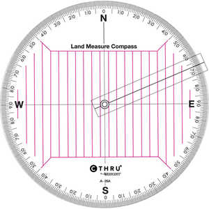 Land Measure Compass