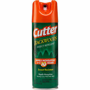 Cutter Backwoods Insect Repellent, 6 oz. Aerosol Spray, 25% DEET