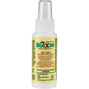Bug-X 30 Insect Repellent, 30% DEET, 2 oz. Spray