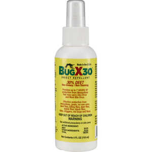 Bug-X 30 Insect Repellent, 30% DEET, 4 oz. Spray