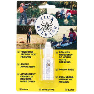 Tick Release, 1/5 oz. Squeeze Bottle