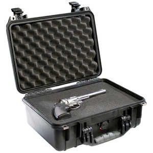 Pelican 1450 Case with Foam Insert, Black