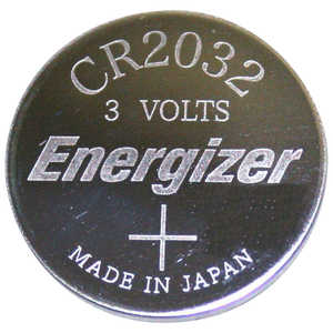 Energizer Lithium Battery, CR2032, 3V, Single