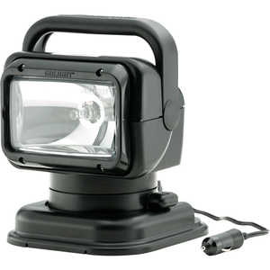Golight RadioRay Remote Controlled Spotlight, Wireless, Black