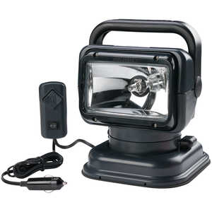 Golight RadioRay Remote Controlled Spotlight, Wired, Black