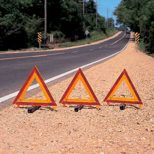 Warning Triangles, Set of 3