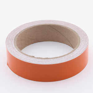 Pressure-Sensitive Reflective Tape, Orange