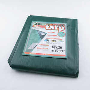Heavy-Duty Waterproof Polyethylene Tarp, 12' x 16'