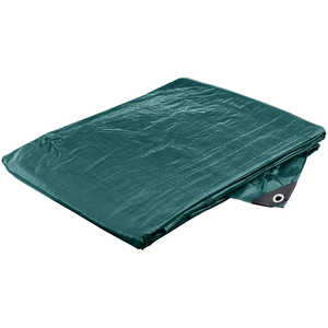 Heavy-Duty Waterproof Polyethylene Tarp, 20' x 20'