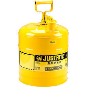 Justrite Type I Safety Can, Five-Gallon Diesel Can