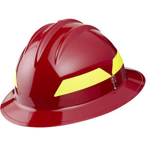 Red Hat, Model FH911H Bullard Wildland Fire Helmet with Self Sizing 6-Point Suspension