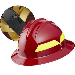 Red Hat, Bullard Wildland Fire Helmet with Ratchet Suspension