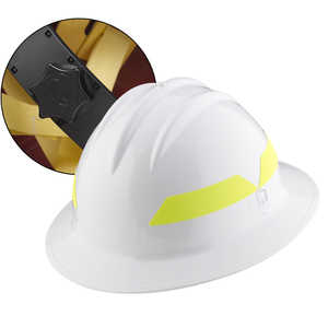 White Hat, Bullard Wildland Fire Helmet with Ratchet Suspension