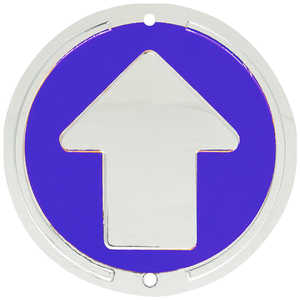 Trailite Arrow Markers, Blue, Non-Reflective, Pack of 100