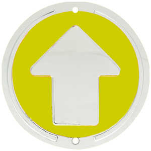 Trailite Arrow Markers, Yellow, Non-Reflective, Each