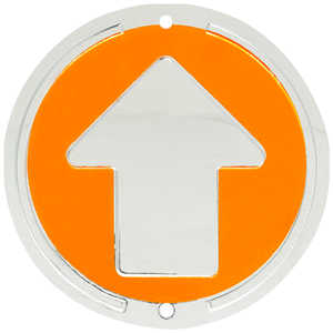 Trailite Arrow Markers, Orange, Non-Reflective, Pack of 100