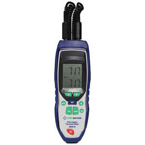Digi-Sense Dual-Input NIST Traceable Data Logging Thermistor Thermometer