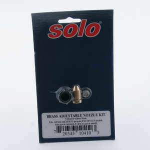 Solo Brass Adjustable Nozzle Kit