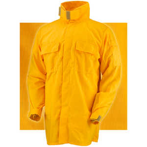 "Crew Boss 6.0 oz. Nomex IIIA Brush Shirt, Yellow, XX-Large 50""-52"""