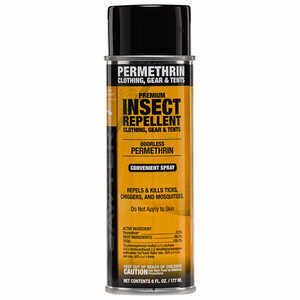 Sawyer Permethrin Tick Repellent, 6 oz. Aerosol Bottle