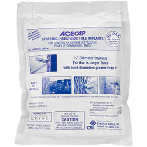 "ACECAP Systemic Insecticide Implants, 1/2"", Pack of 50"