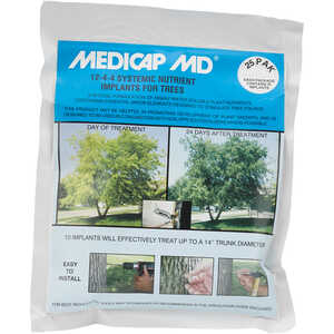 "MEDICAP MD Systemic Nutrient Implants for Trees, 3/8"", Pack of 25"