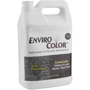 EnviroColor Mulch Colorant, Georgia Pine, 1 Gallon
