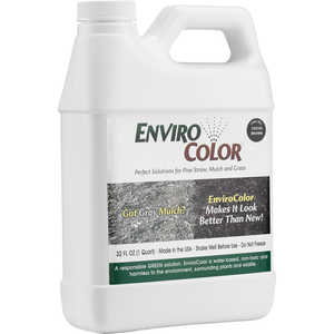 EnviroColor Mulch Colorant, Cocoa Brown, 32 oz.