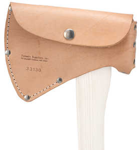 For 2-1/4 lb. heads Single Bit Leather Axe Sheath
