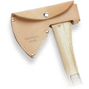 For 2 lb. heads Single Bit Leather Axe Sheath
