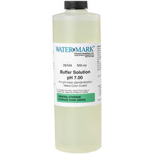 7.00, Watermark pH Buffer Solution, One Pint
