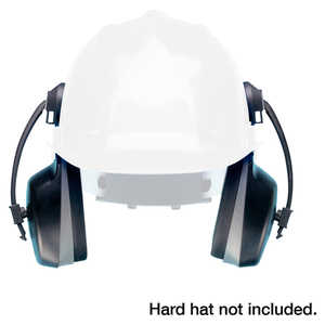 Elvex Cap-Mounted Low Profile Ear Muffs with Brackets