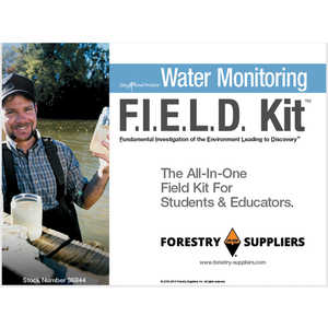 Forestry Suppliers Water Monitoring F.I.E.L.D. Kit