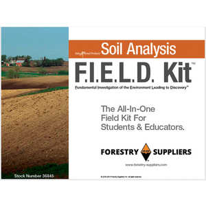 Forestry Suppliers Soil Analysis F.I.E.L.D. Kit