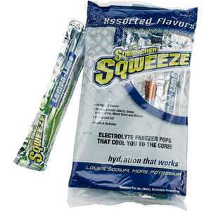 Sqwincher Sqweeze Electrolyte Replenishment Pops, Pack of 10