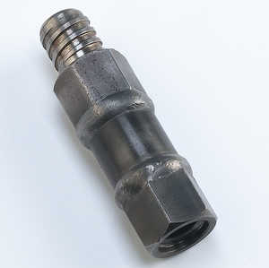 "AMS 5/8"" Threaded Female to Signature Male Adapter"