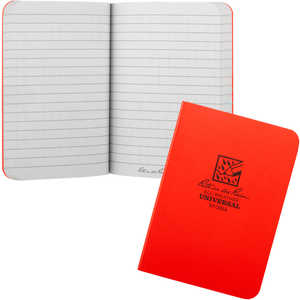 "Rite in the Rain Field-Flex Notebook, Universal, Orange, 3-1/2"" x 5"""