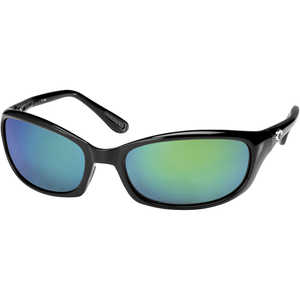 Costa Harpoon Sunglasses, 400G LightWAVE GLass, Green Mirror Lens