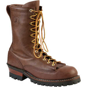 Brown, Size 11D White's Boots Hathorn Explorer Lace-to-Toe Logger Boot