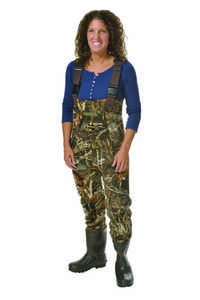 Pro Line Pintail Women's Neoprene Chest Waders, Shoe Size 10