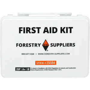 Forestry Suppliers 25-Person Industrial First Aid Kit, Class A+