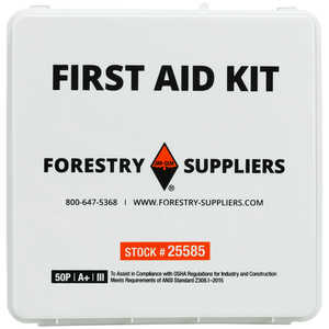 Forestry Suppliers 50-Person Industrial First Aid Kit, Class A+